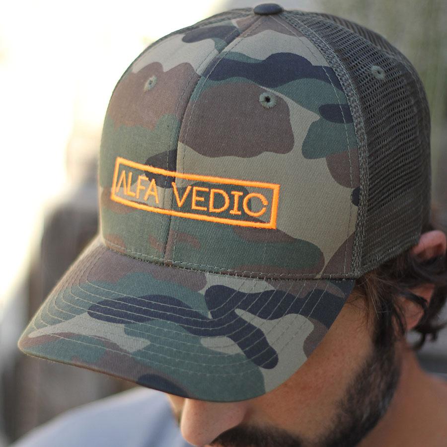 AV Trucker Camo Hat